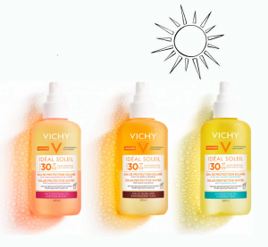 Be sun-savvy with VICHY IDÉAL SOLEIL SOLAR PROTECTIVE WATERS