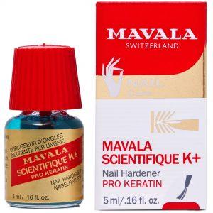 Mavala's new Scientifique K+ Nail Hardener is here!
