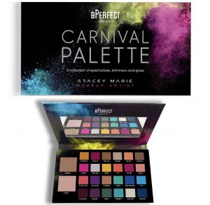 Top international beauty influencers rave about what some call the Palette of the Year – The BPerfect x Stacey Marie Carnival Palette!